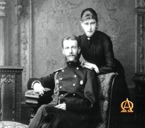 Великая княгиня Елизавета Фёдоровна и великий князь Сергей Александрович