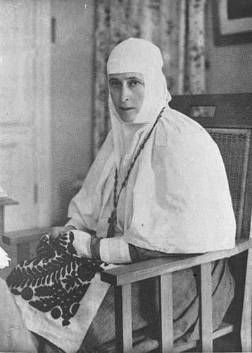 Начальница Марфо-Мариинской обители великая княгиня Елизавета Федоровна
