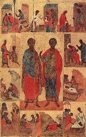 Святые мученики Косма и Дамиан Римские